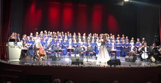 Şef Aylin Şengün Taşçı'nın korosundan muhteşem konser