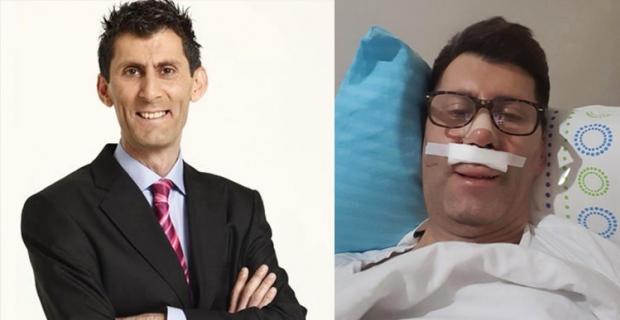 Kaza geçiren Ahmet Çevik 24 kilo aldı!