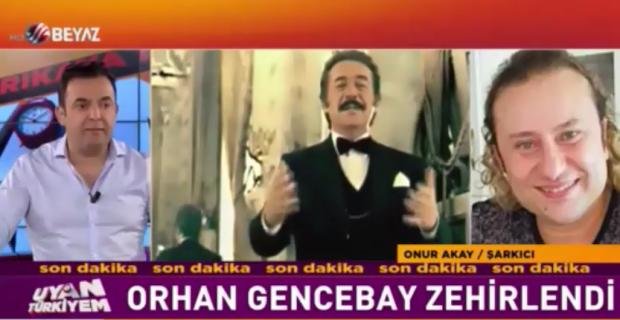 Onur Akay, Orhan Gencebay yorumlarına ateş püskürdü!