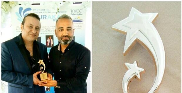 OnurAkayMedya'ya, 'Yılın Medyası Ödülü'
