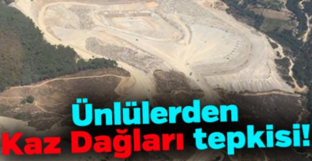 Tarkan Tevetoğlu ve Kerem Bürsin'den Kaz Dağları tepkisi!