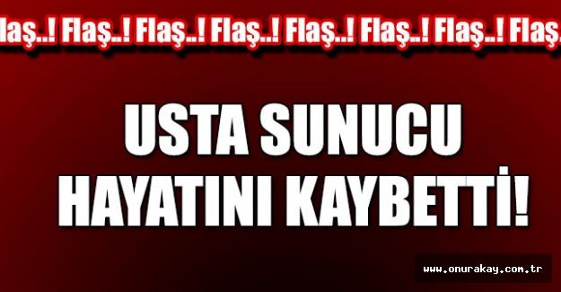 TRT'nin acı kaybı! Usta sunucu hayatını kaybetti…