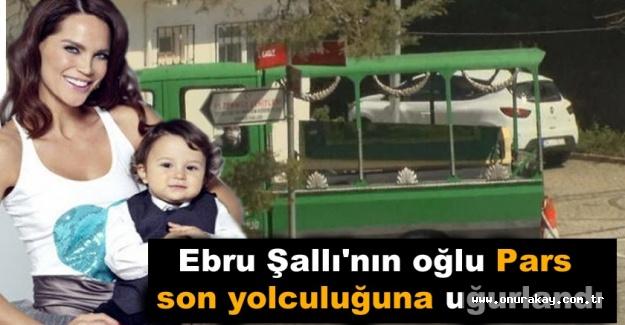 Ebru Şallı'nın oğlu Pars'ın mezar taşı herkesi ağlattı!