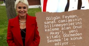 """Onur Akay, """"Görmeden Sevmek"""" kitabı ile Gülgûn Feyman'ın konuğu oluyor!"""