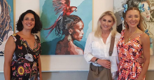 Ersoy'lar, Pınar Kalem'in İçimdeki Kadın Sergisi'nde bir araya geldi!